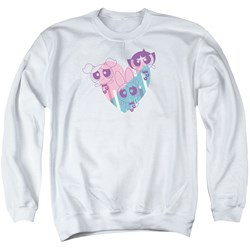 Powerpuff Girls - Mens Powerpuff Heart Sweater