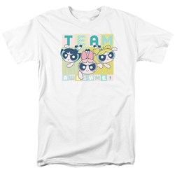 Powerpuff Girls - Mens Awesome Block T-Shirt
