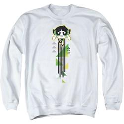 Powerpuff Girls - Mens Buttercup Streak Sweater
