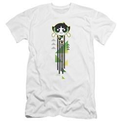 Powerpuff Girls - Mens Buttercup Streak Premium Slim Fit T-Shirt