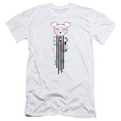 Powerpuff Girls - Mens Bubbles Streak Slim Fit T-Shirt