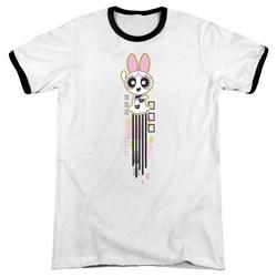 Powerpuff Girls - Mens Blossom Streak Ringer T-Shirt