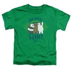 We Bare Bears - Toddlers Bears Win T-Shirt