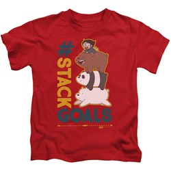 We Bare Bears - Youth Stack Goals T-Shirt