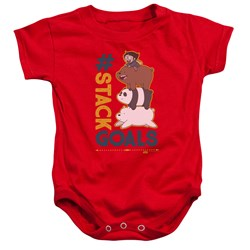 We Bare Bears - Toddler Stack Goals Onesie