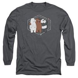 We Bare Bears - Mens Selfie Long Sleeve T-Shirt