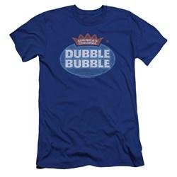 Dubble Bubble - Mens Vintage Logo Premium Slim Fit T-Shirt