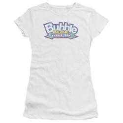Dubble Bubble - Juniors Bubble Blox Premium Bella T-Shirt