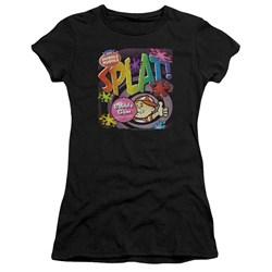 Dubble Bubble - Juniors Splat Gum Premium Bella T-Shirt