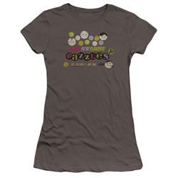Dubble Bubble - Juniors Razzles Retro Box Premium Bella T-Shirt