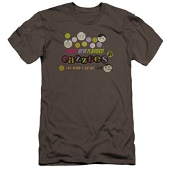 Dubble Bubble - Mens Razzles Retro Box Premium Slim Fit T-Shirt