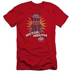 Dubble Bubble - Mens Motor Mouth Premium Slim Fit T-Shirt