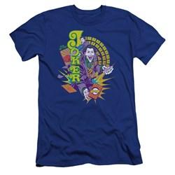 Dc - Mens Raw Deal Premium Slim Fit T-Shirt