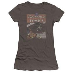 Dc - Juniors Detective #27 Distressed Premium Bella T-Shirt