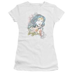 Dc - Juniors Wonder Scroll Premium Bella T-Shirt