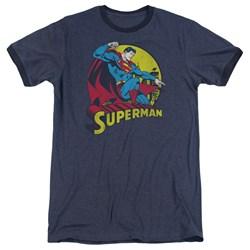 Dc - Mens Big Blue Ringer T-Shirt