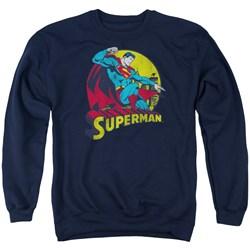Dc - Mens Big Blue Sweater