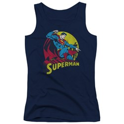 Dc - Juniors Big Blue Tank Top