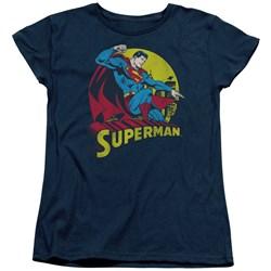 Dc - Womens Big Blue T-Shirt