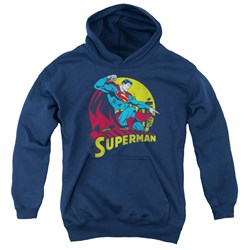 Dc - Youth Big Blue Pullover Hoodie