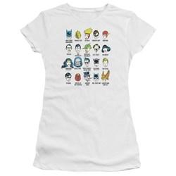 Dc - Juniors Superhero Issues Premium Bella T-Shirt