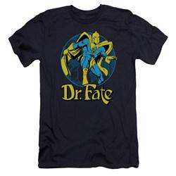 Dc - Mens Dr Fate Ankh Premium Slim Fit T-Shirt