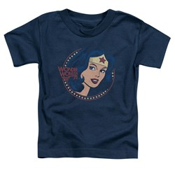 Dc - Toddlers Ww75 Starburst Portrait T-Shirt