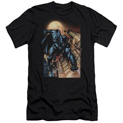 Batman - Mens The Dark Knight #1 Premium Slim Fit T-Shirt