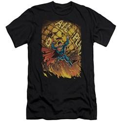 Superman - Mens Superman #1 Premium Slim Fit T-Shirt