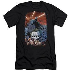 Batman - Mens Detective Comics #1 Premium Slim Fit T-Shirt