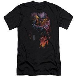Batman - Mens Batman & Robin #1 Premium Slim Fit T-Shirt
