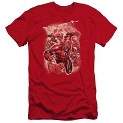 Green Lantern - Mens Red Lanterns #1 Premium Slim Fit T-Shirt