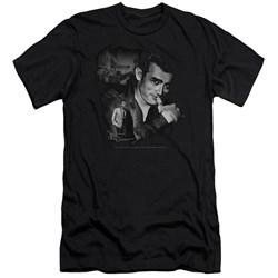 Dean - Mens Mischevious Large Premium Slim Fit T-Shirt