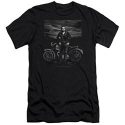 Dean - Mens Rebel Rider Premium Slim Fit T-Shirt