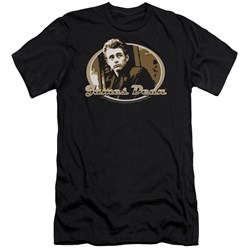 Dean - Mens Looking Back Premium Slim Fit T-Shirt