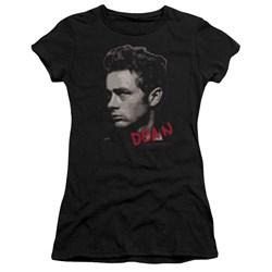 Dean - Juniors Large Halftones Premium Bella T-Shirt
