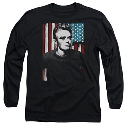 James Dean - Mens Painted Icon Long Sleeve T-Shirt