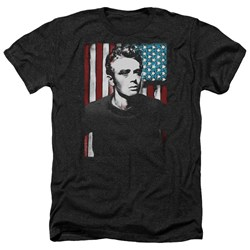 James Dean - Mens Painted Icon Heather T-Shirt