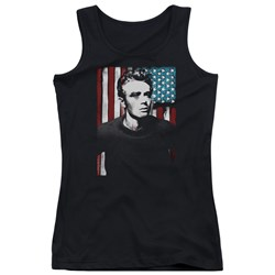 James Dean - Juniors Painted Icon Tank Top
