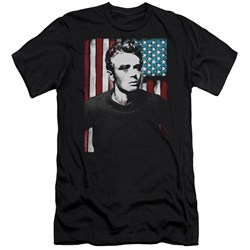 James Dean - Mens Painted Icon Premium Slim Fit T-Shirt