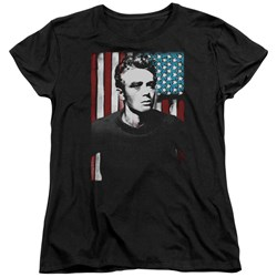 James Dean - Womens Painted Icon T-Shirt