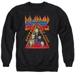 Def Leppard - Mens Hysteria Tour Sweater