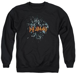 Def Leppard - Mens Broken Glass Sweater