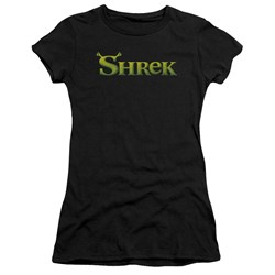 Shrek - Juniors Logo Premium Bella T-Shirt