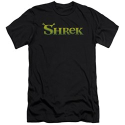 Shrek - Mens Logo Premium Slim Fit T-Shirt