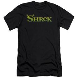 Shrek - Mens Logo Premium Slim Fit T-Shirt