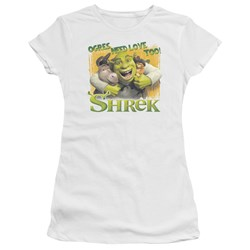 Shrek - Juniors Ogres Need Love Premium Bella T-Shirt