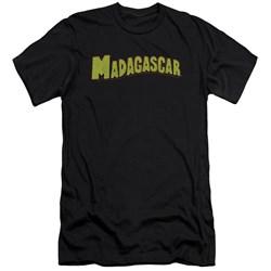 Madagascar - Mens Logo Premium Slim Fit T-Shirt