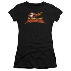 Kung Fu Panda - Juniors Logo Premium Bella T-Shirt