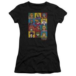 Masters Of The Universe - Juniors Character Heads Premium Bella T-Shirt